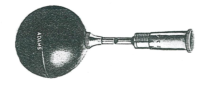 fischietto di Galton dotato della pera di gomma