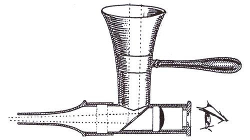 L'otoscopio di Brunton