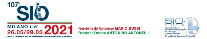 CONFERMATO ONLINE IL 107° CONGRESSO SIOeChCF – Messaggio del Presidente del Congresso